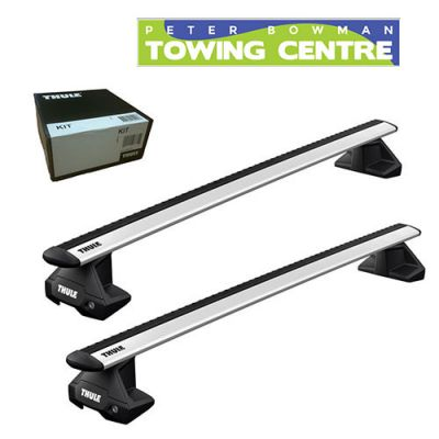 Thule 7115 Black Evo Wingbar Roof Bars x 2 1 Pair