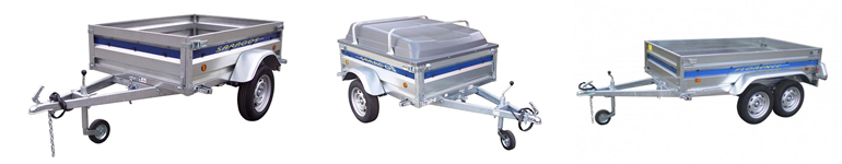 Trailers: camping trailer and all purpose trailer